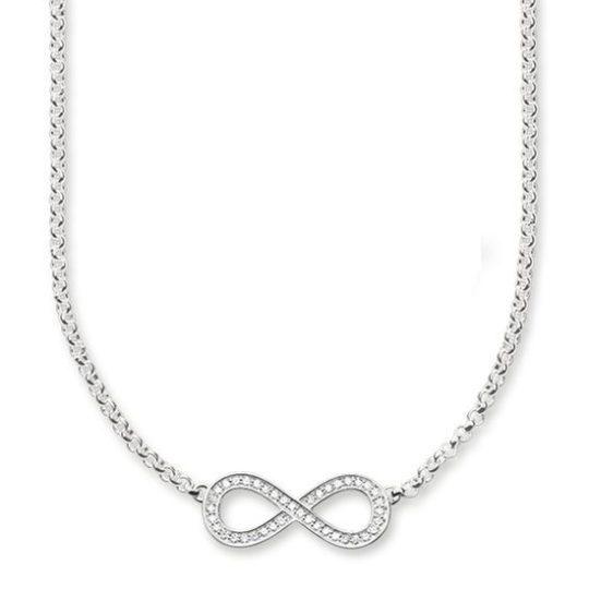 Thomas Sabo Silver CZ Infinity Pendant