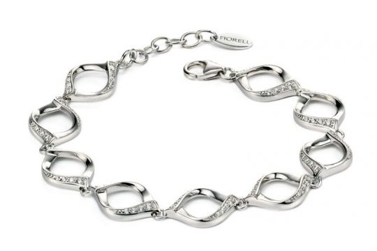 Fiorelli Silver CZ set Bracelet
