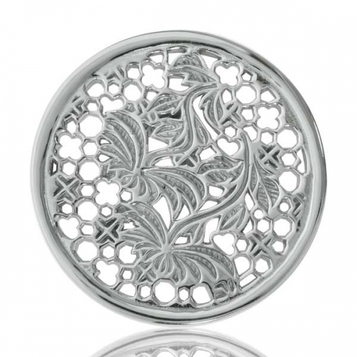 Nikki Lissoni Silver Medium Coin