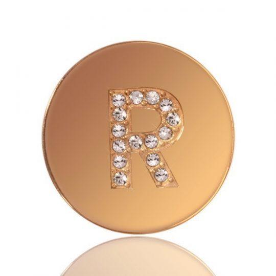 Nikki Lissoni Sparkling R Small Coin