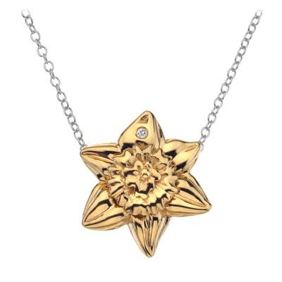 Hot Diamonds Spring Daffodil Pendant