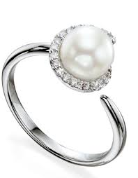 Fiorelli Gold – Diamond & Pearl Dress Ring