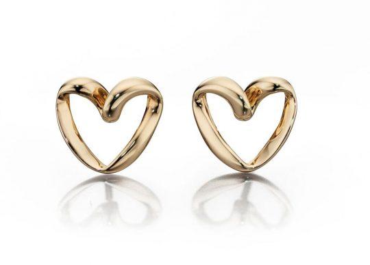 Fiorelli Gold – Heart Earrings