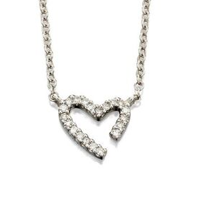 Fiorelli Gold – Diamond Heart Pendant