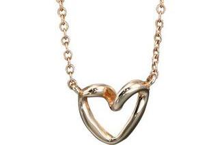 Fiorelli Gold – Ribbon Heart Pendant