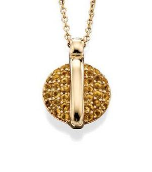 Fiorelli Gold – Citrine Pendant