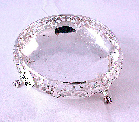 Antique Sterling Silver Sweet Dish