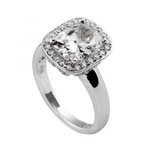 Diamonfire Cushion Cut Cocktail Ring