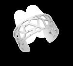 'Giraffe' Silver Coloured Cuff