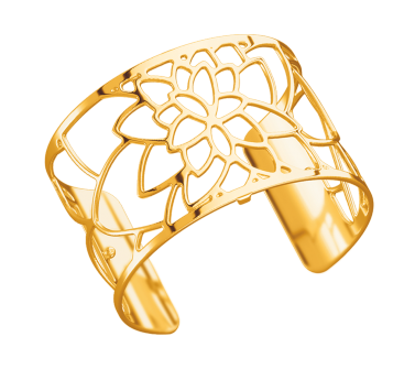 'Nenuphar' Yellow Gold Coloured Cuff