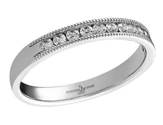 Brown & Newirth Diamond Half Hoop Ring