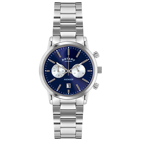 Gents Rotary Blue Avenger Watch