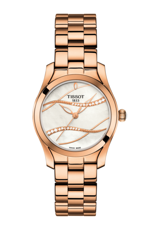 Tissot T-Wave Diamond Set Ladies Watch