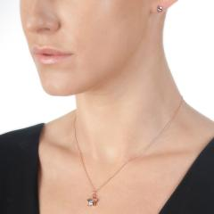 Hot Diamonds Rose Gold Star Earrings