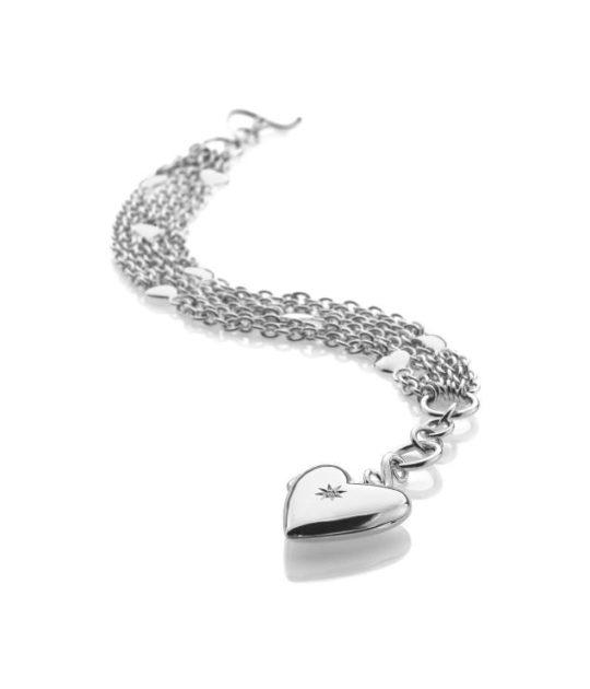 Hot Diamonds Glamour Locket Bracelet
