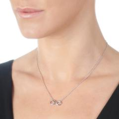 "Hot Diamonds Infinity 18"" Necklace"
