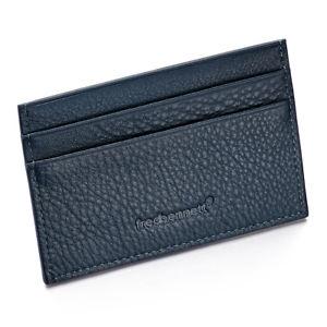 Fred Bennett Blue Leather Card Holder