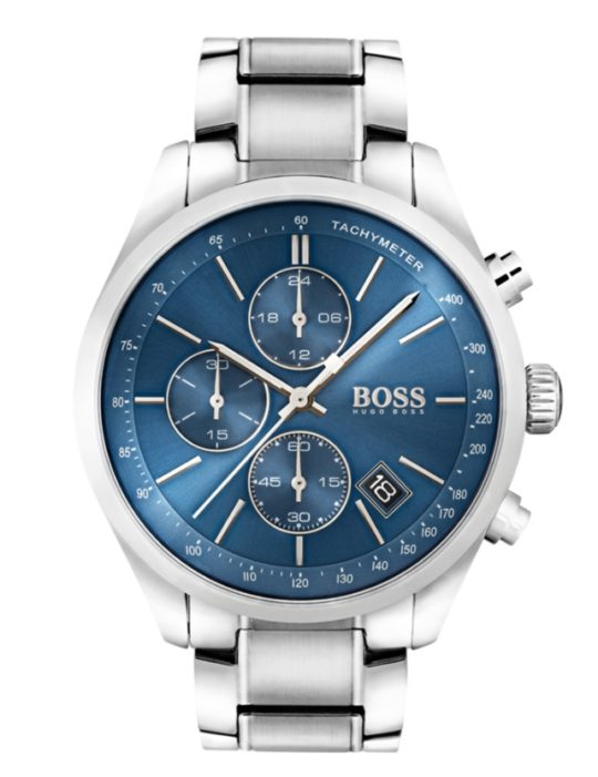 HUGO BOSS Grand Prix Steel Watch