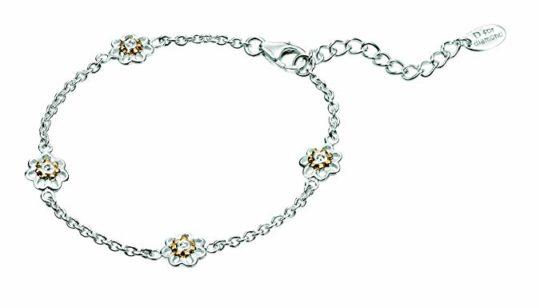 D For Diamonds Girls Flower Bracelet