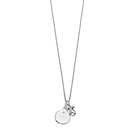 D For Diamonds Disc And Dummy Pendant