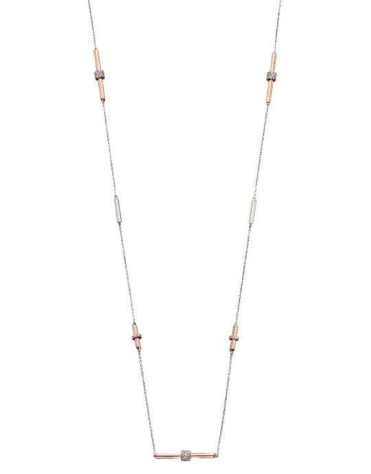 Fiorelli Tubular Station Necklace