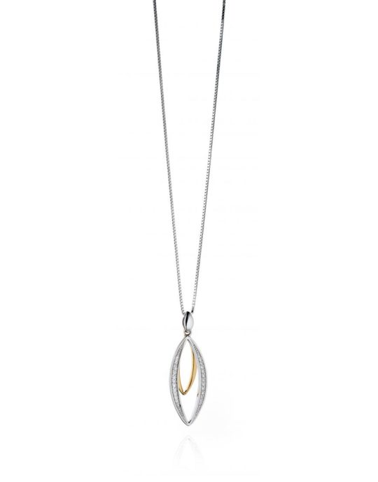 Fiorelli Silver & Gold plated Necklace