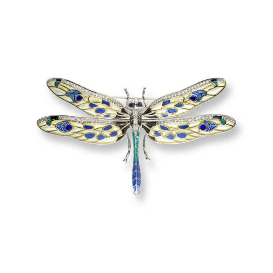 Yellow Dragonfly Brooch/Pendant