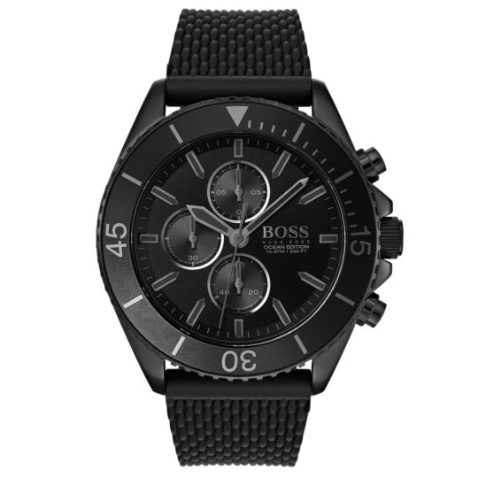 HUGO BOSS Ocean Edition Black PVD Watch
