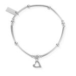 ChloBo Mini Noodle Ball Heart Bracelet