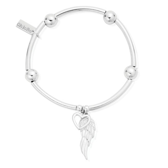ChloBo Heart Angel Wing Bracelet