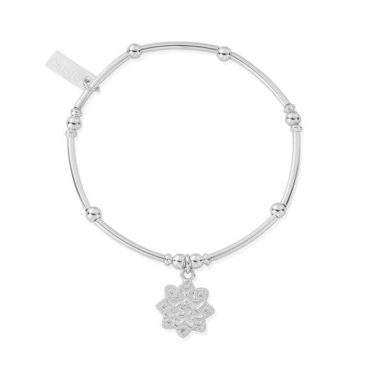 ChloBo Mini Flower Om Bracelet