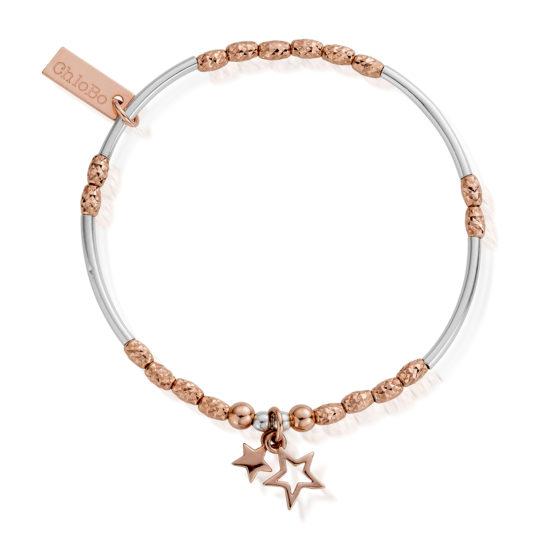 ChloBo Rose Double Star Bracelet