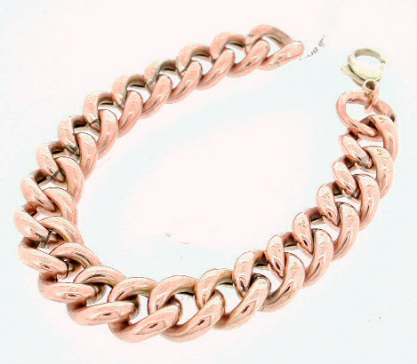 Antique Curb Link Bracelet