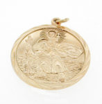 9ct Yellow Gold St Christopher