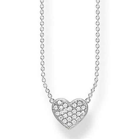Thomas Sabo Sparkling Heart Necklace