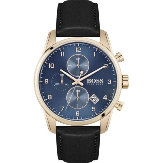 HUGO BOSS SkyMaster Gold Plated Watch