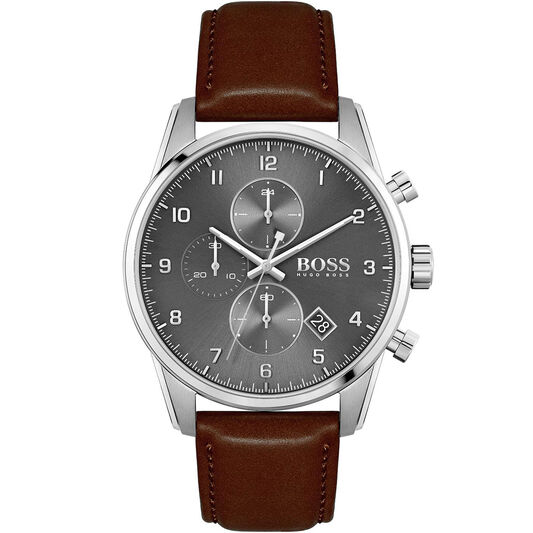 HUGO BOSS SkyMaster Steel Watch