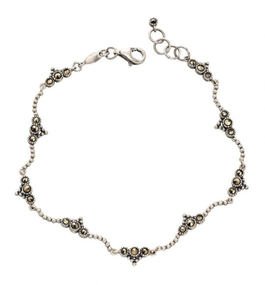 Elements Dainty Marcasite Bracelet
