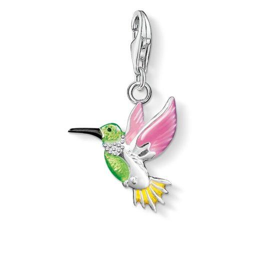 Thomas Sabo Colourful Humming Bird Charm