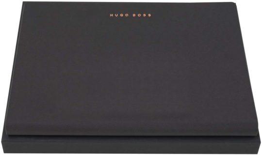 Hugo Boss A4 Essential Rose Soft Black Folder