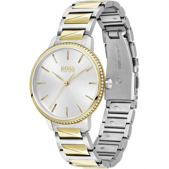 BOSS Women Signature Bi Colour Watch