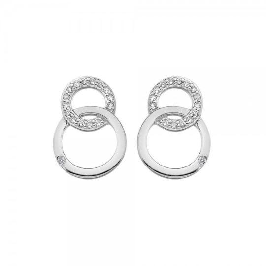 Hot Diamonds Striking Earrings