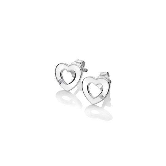 Hot Diamonds Amulet Heart Earrings