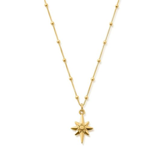 ChloBo Lucky Star Necklace Gold Plated