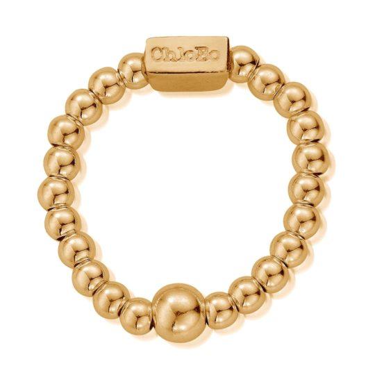 ChloBo Mini Gold Plated Ring