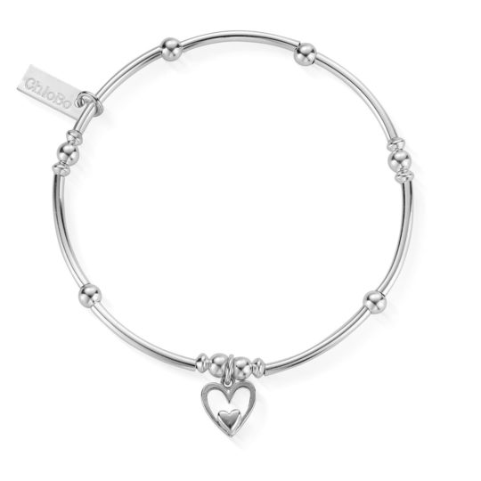 ChloBo Mini Heart In Heart Bracelet
