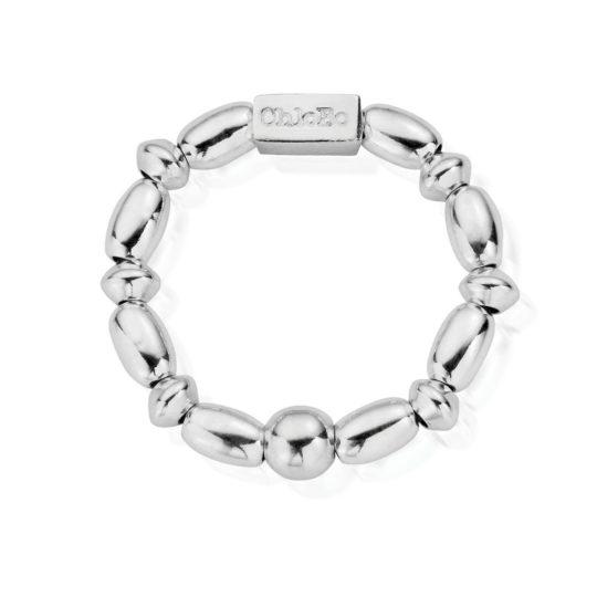 ChloBo Mini Rice Ring Silver