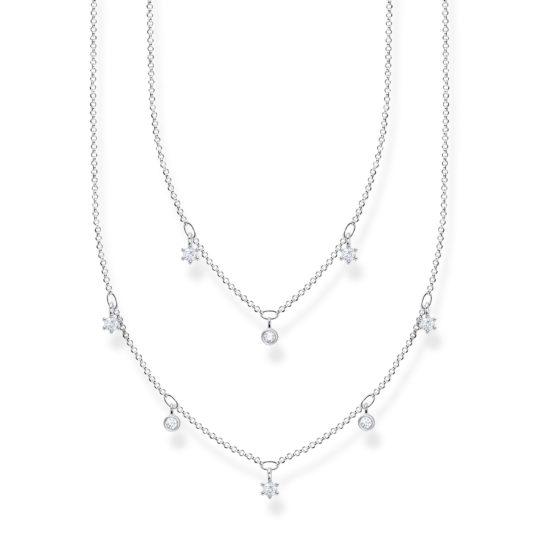 Thomas Sabo Silver Double Row Necklace