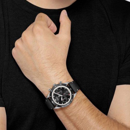 HUGO BOSS Santiago Steel Watch