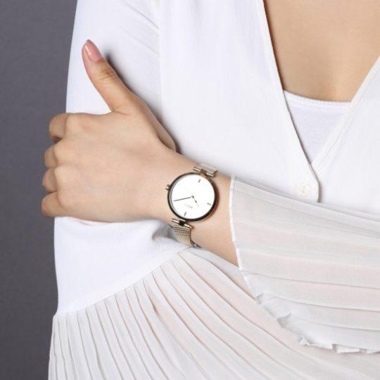 BOSS Women Majesty Gold Plated Watch
